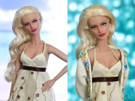 Sophia - Hand repainted Fashion Royalty Doll by naraedoll
