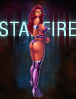 Starfire 2015 by JorgeFranco