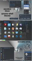 Sombre Doux - Gnome-Shell and Cinnamon Theme by rvc-2011
