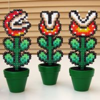 Miniature Video Game Floristry by arcade-art