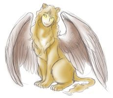 Sphinx by FrostDragonVacu