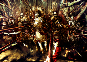 Polish Winged Hussars by dylonji