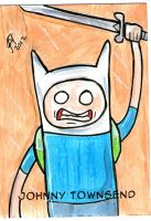 Adventure Time Finn PSC by johnnyism