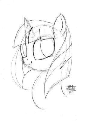 [SAMPLE] Basic Sketch - Bust by BoxedSurprise
