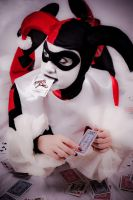 Harley Quinn - Card Queen by deimosmasque