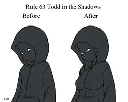 Rule 63 ToddintheShadows by X-Cross