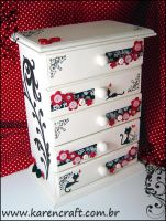 MDF mini dresser by KarenKaren