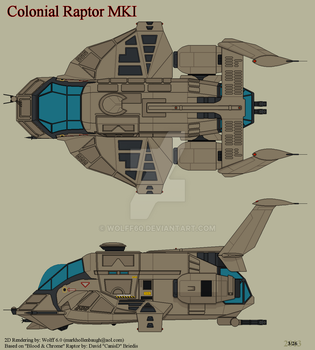 Colonial Raptor MKI by Wolff60