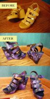 Galaxy Shoes by brusierkee