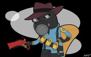 TF2: crossover: PnP: Pyro the Platypus by vangberg