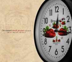 strawberry Clock by nyukdesign
