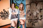 Petra and Evelin at an abandoned soviet barrack by Norrington1