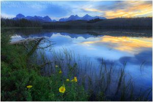 Sawtooths in Summer by tourofnature