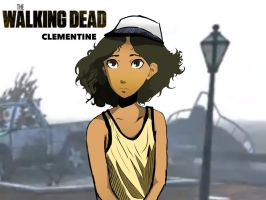 Clementine (The Walking Dead) by spenzbowart