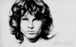 Jim Morrison by RonnySkoth