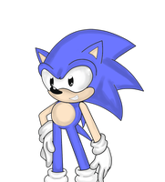 Color me .:Classic Sonic:. by AlmightyYing