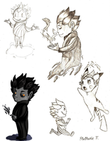 Sandy Sketch Dump by Ask-RotG