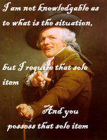Ducreux Meme - That One Thing by watermelemon