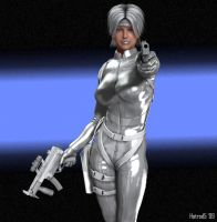 Silver Sable by hotrod5