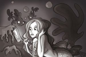 Mermaid Ipod by lindsayhinheinzen