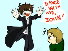 Dance With Me John! by Applemist
