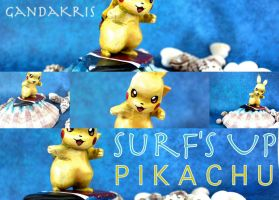 Surf's Up PIKACHU by GandaKris