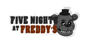 Five Nights At Freddy's logo by NuryRush