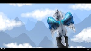 Queen of the skies.:ART TRADE:. by Tanchie97