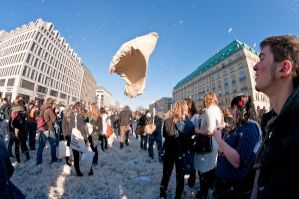 Berlin pillow fight 2011 - 28 by Egg-Salad