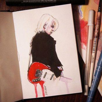 HYDE (Daily sketch #3) by PolinaQueen