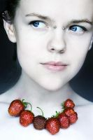 Strawberries by freeminds