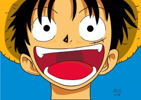 Monkey D. Luffy 3 by tonetto17