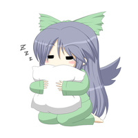 Sleepy Okuu by DumpShotDan