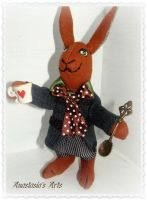 March Hare Doll by AnastasiasArts