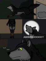 The werewolf is born - part 7 by TwilightDragon0
