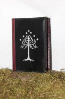 White tree of Gondor, A6 book cover by akinra-workshop