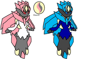 Mega Diancie Remade by YingYangHeart