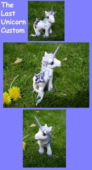 The Last Unicorn Custom by CrowMaiden