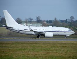 A6-DAS Boeing BBJ by captainflynn