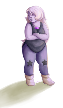 Day 2: Amethyst by ChibiSo