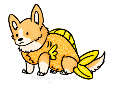 Corgifish by Exoe