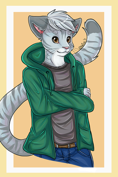 Suave Tabby Cat by Neive