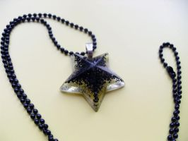 Black Star Necklace by WildeMoon