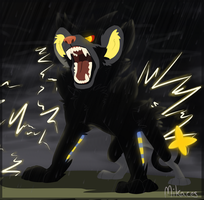 Roar of Thunder by Mikaces