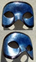 Simple Curves Mask Version2, Blue by flufdrax