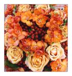 Bouquet in Orange by SuperSimo