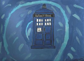 Doctor Who: The Tardis by MaiShark