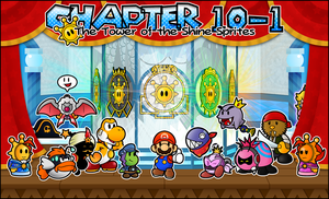 Chapter 10-1 : The Tower of the Shine Sprites by Noctalaty