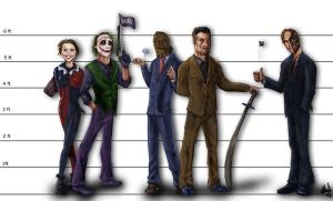The Unusual Suspects by Bardsville