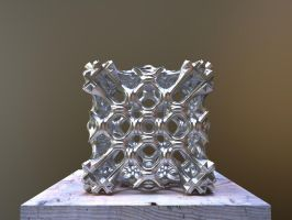 Fractal 3D Printable Model by nic022